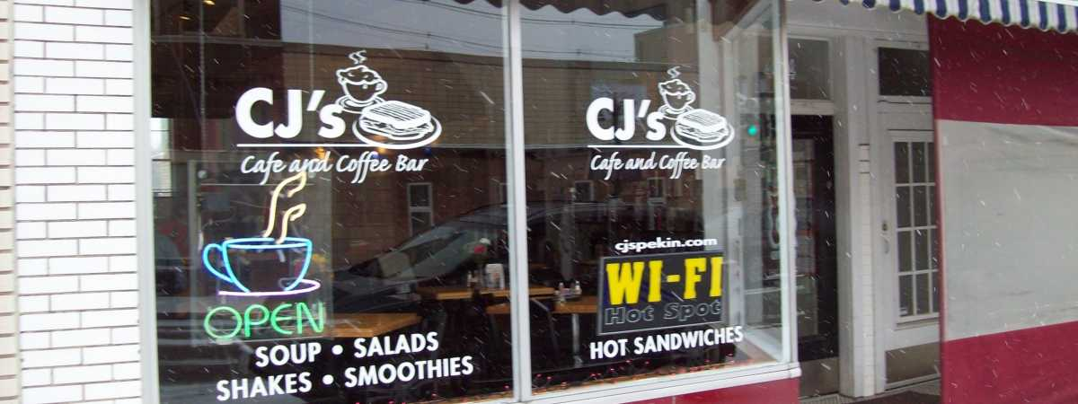 free wifi delicious coffee - Glass Front Cafe 2015
